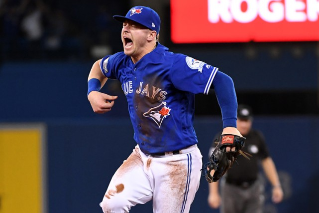 Josh Donaldson... (PHOTO ARCHIVES REUTERS)
