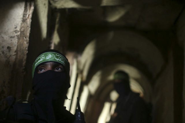 Ces tunnels servant à l'infiltration en Israël avaient... (ARCHIVES REUTERS)