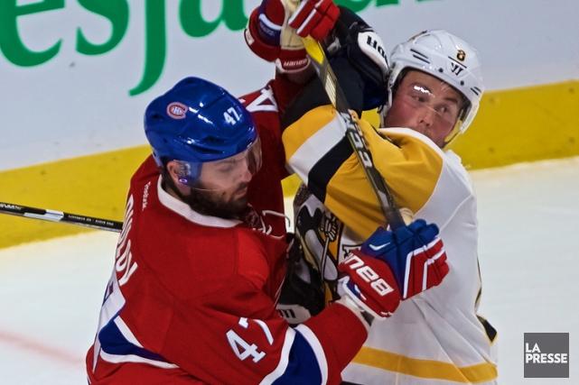 Relisez le clavardage du match entre le Canadien et les Penguins de Pittsburgh... (PHOTO ANDRÉ PICHETTE, LA PRESSE)