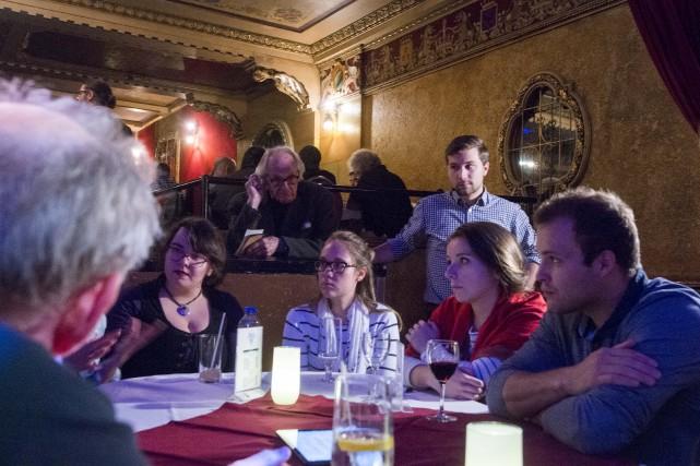La troisième soirée de consultation publique du collectif... (Spectre Média, Julien Chamberland)