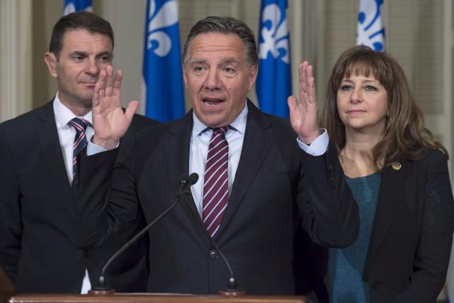 «Je ne peux pas croire ça, qu'au Québec,... (La Presse Canadienne, Jacques Boissinot)