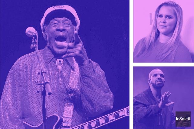 Chuck Berry annonce son premier album en près de 40 ans (Infographie Le Soleil)
