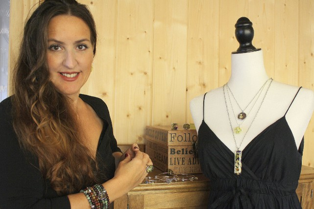Les bijoux de Sonia Zalesack, une artisane de... (Photo fournie)
