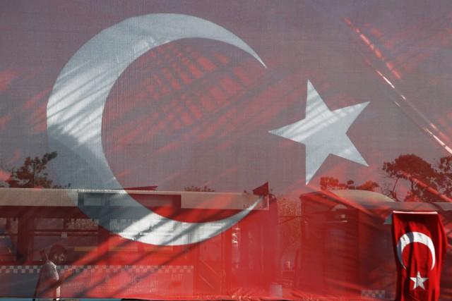 La Turquie a été secouée depuis plus d'un... (AP)