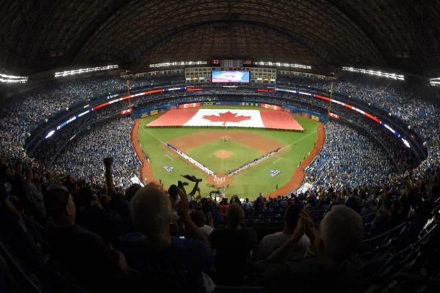 Grâce au toit amovible du Rogers Centre, aucun... (PhotoDan Hamilton, USA TODAY Sports)
