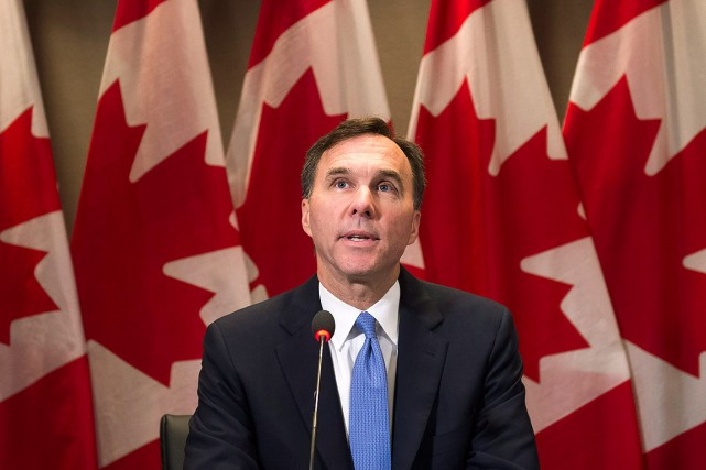 Le ministre des Finances, Bill Morneau.... (ARCHIVES PC)