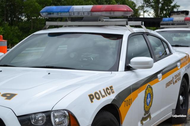 Les policiers de la Sûreté du Québec ont... (Archives Le Quotidien)