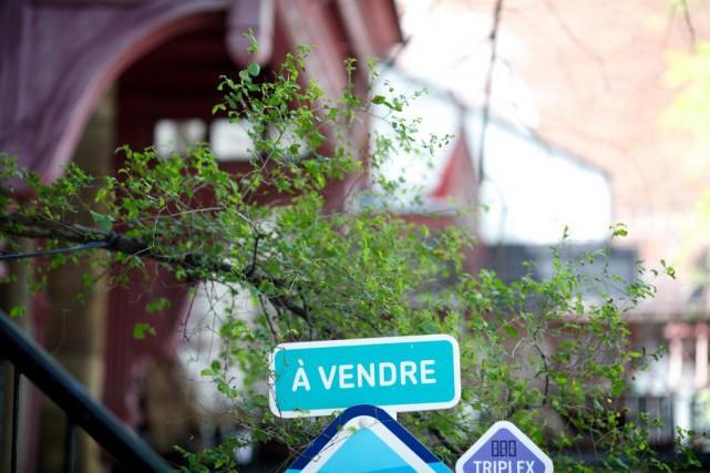 Le nombre de transactions a grimpé de 6%... (PHOTO SARAH MONGEAU-BIRKETT, archives LA PRESSE)