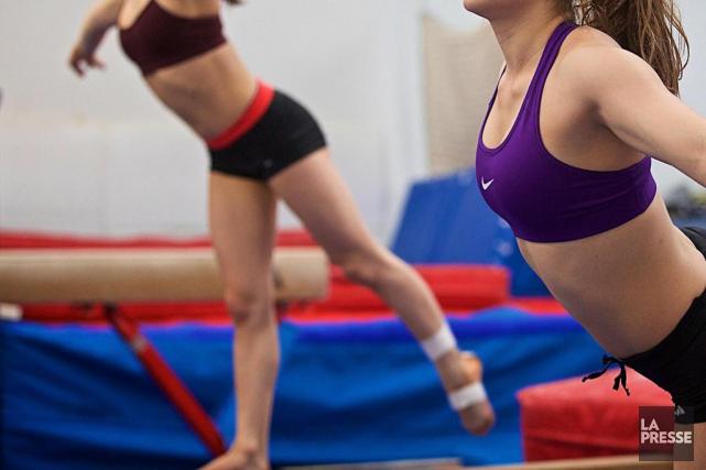 Les filles sont plus nombreuses que les garçons à abandonner le sport et... (PHOTO ANDRÉ PICHETTE, LA PRESSE)
