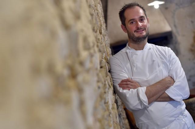Alexandre Couillon, chef du restaurant La Marine à... (PHOTO AFP)