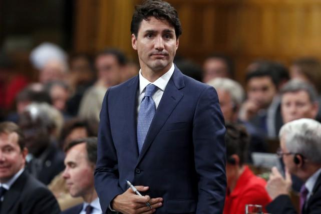 Le premier ministre Justin Trudeau... (La Presse Canadienne, Fred Chartrand)