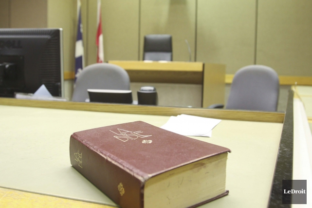 Le juge Valmont Beaulieu a choisi de prononcer... (Patrick Woodbury, Archives Le Droit)