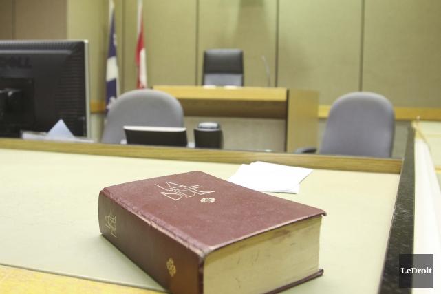 Palais de justice de Gatineau... (Patrick Woodbury, Archives Le Droit)