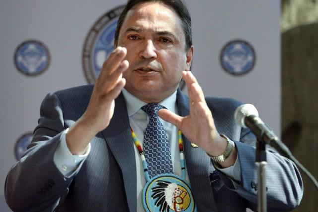 Le chef de l'Assemblée des Premières Nations, Perry... (PHOTO JUSTIN TANG, ARCHIVES LA PRESSE CANADIENNE)