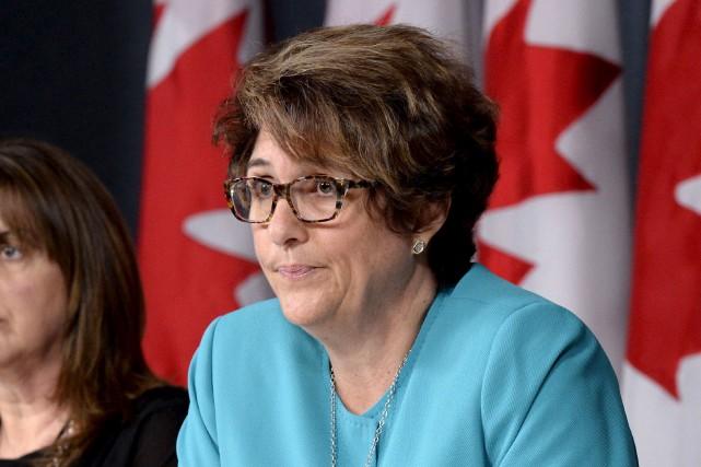 La sous-ministre des Services publics et Approvisionnements, Marie... (Justin Tang, Archives La Presse canadienne)