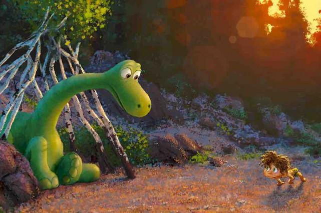 Le bon dinosaure... (Fournie par Pixar/Disney)