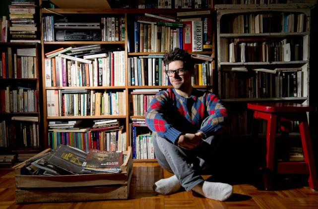 L'auteurSimon Boulerice publie deux livres cet automne:L'enfant mascaraetGéolocaliser... (Photo Alain Roberge, Archives La Presse)