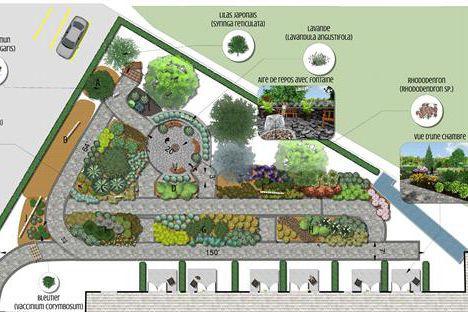 La Maison Aube-Lumière présente un projet de jardin...