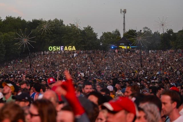 Les spectacles musicaux déménageraient sur le site du... (PHOTO CATHERINE LEFEBVRE COLLABORATION SPÉCIALE)