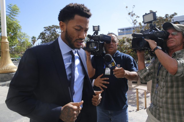 Derrick Rose... (Photo Damian Dovarganes, AP)