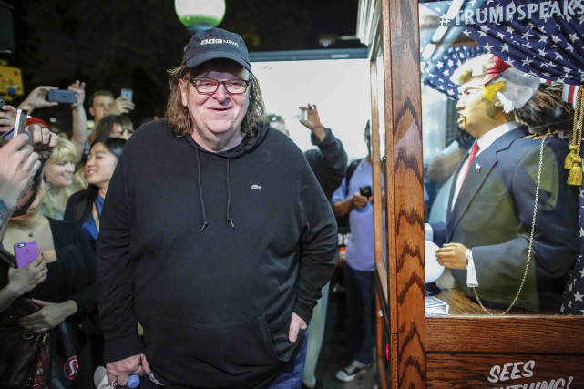 Le nouveau film de Michael Mooreraconte les déboires... (AFP, Kena Betancur)