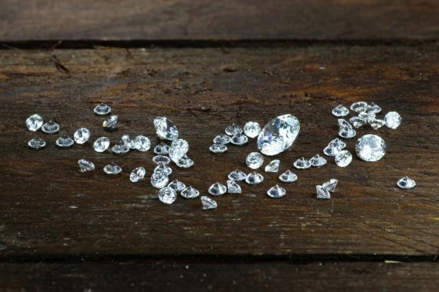 Inaugurée officiellement mercredi, la première mine de diamant... (123RF)