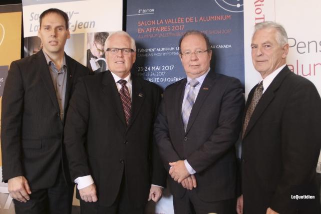 Le directeur régional de Développement économique Canada pour... (Photo Le Quotidien, Yohann Gasse)