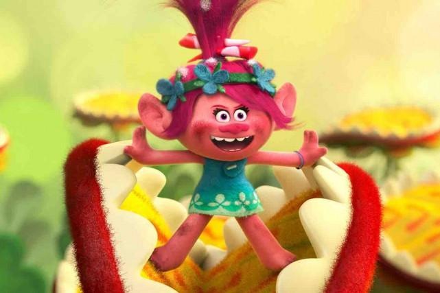 Les Trolls, ces joyeuses figurines aimées des enfants... (Fournie par Dreamworks)