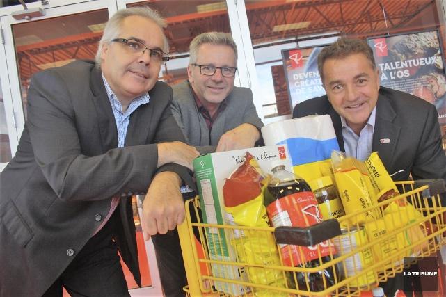 Une nouvelle édition du Souper du partage se... (La Tribune, Jean-François Gagnon)