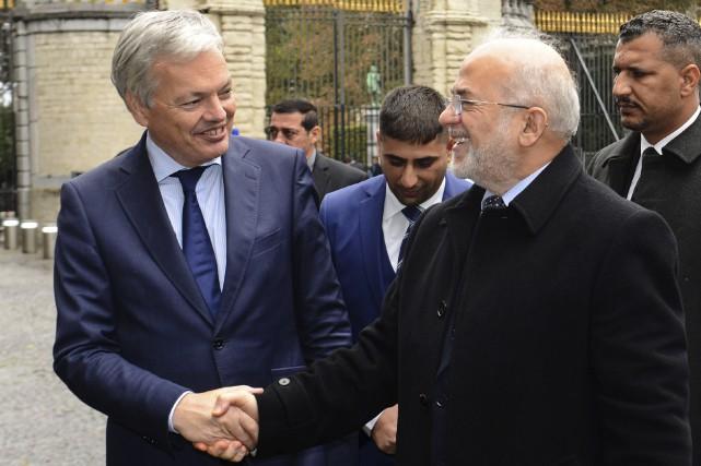 Le compte Twitter du ministre belge des Affaires... (AFP, Jean-Luc Flemal)