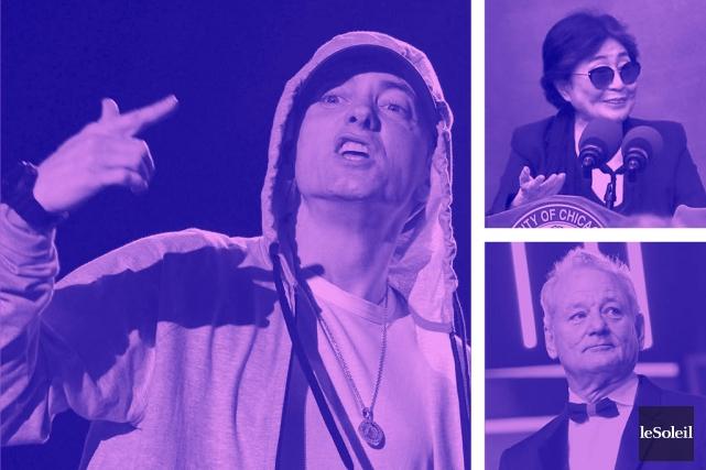 Eminem rompt le silence pour dénoncer Trump (Infographie Le Soleil)