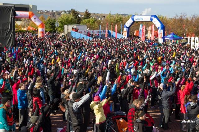 L'an dernier, des milliers de marcheurs avaient répondu... (Archives Le Quotidien)