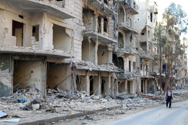 Ancienne capitale économique de Syrie, Alep est devenue... (photo archives REUTERS)