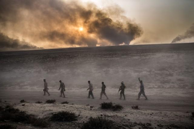 «Les objectifs sont de nettoyer un certain nombre... (AFP)
