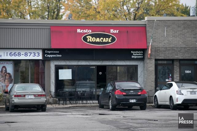 Le Romcafé de Laval, où ont été vues... (Martin Tremblay, La Presse)