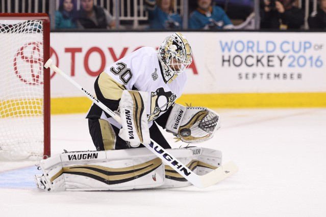Le gardien recrue Matt Murray a contribué à la... (Photo Kyle Terada, USA Today Sports)