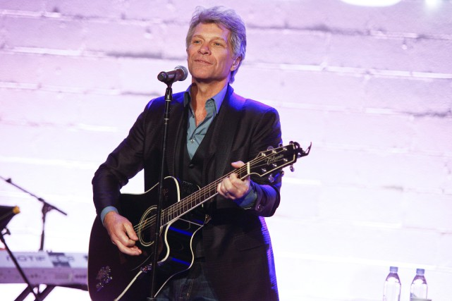 Jon Bon Jovi... (Photo Andy Kropa, AP)