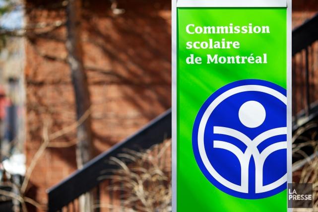 D'une même voix, la Commission scolaire de Montréal, ses syndicats et son... (PHOTO SARAH MONGEAU-BIRKETT, ARCHIVES LA PRESSE)