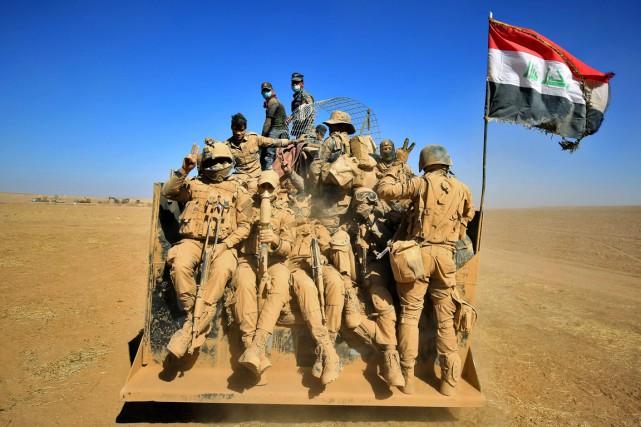 «La bataille de Mossoul est décisive, car elle... (photo AHMAD AL-RUBAYE, AFP)
