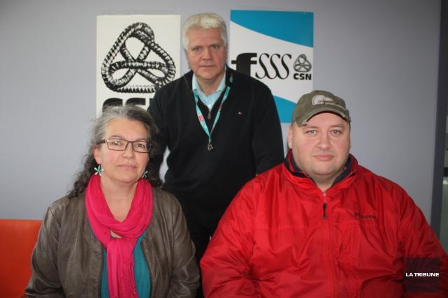 Le vice-président de la FSSS Coeur-du-Québec, Claude Audy,... (La Tribune, Yanick Poisson)