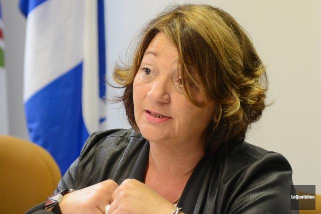 L'ex-vérificatrice générale de Saguenay, Rina Zampieri.... (Photo archives Le Quotidien, Jeannot Lévesque)