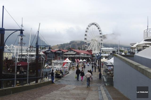 Le secteur du Waterfront, au Cap, est particulièrement... (La Tribune, Jonathan Custeau)