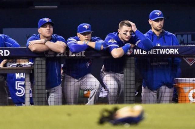Les joueurs des Jays sont déçus, leurs partisans... (La Presse canadienne)