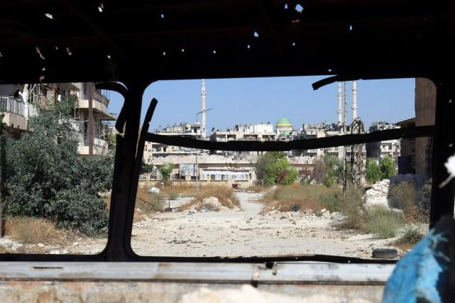 «La faim a été utilisée comme arme» dans... (Photo Abdalrhman Ismail, Reuters)