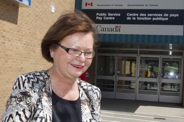 La ministre fédérale des Services publics etde l'Approvisionnement,... (La Presse canadienne)