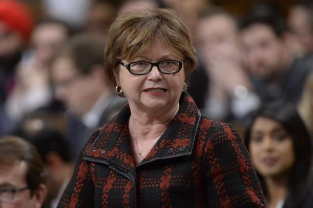 La ministre des Services publics et de l'Approvisionnement,... (Archives La Presse canadienne)