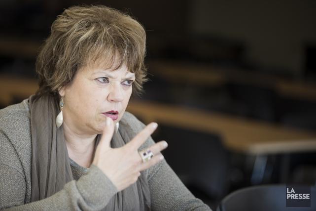 La ministre responsable de l'Enseignement supérieur, Hélène David... (Archives, La Presse)