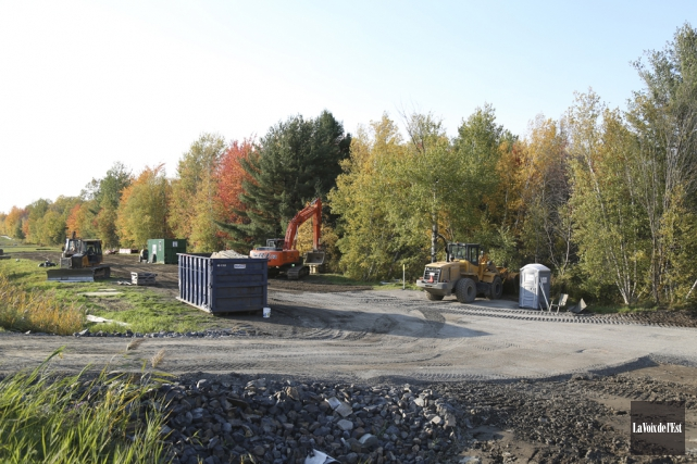 L'entrepreneur responsable des travaux exécutés pour Hydro-Québec le... (Julie Catudal, La Voix de l'Est)