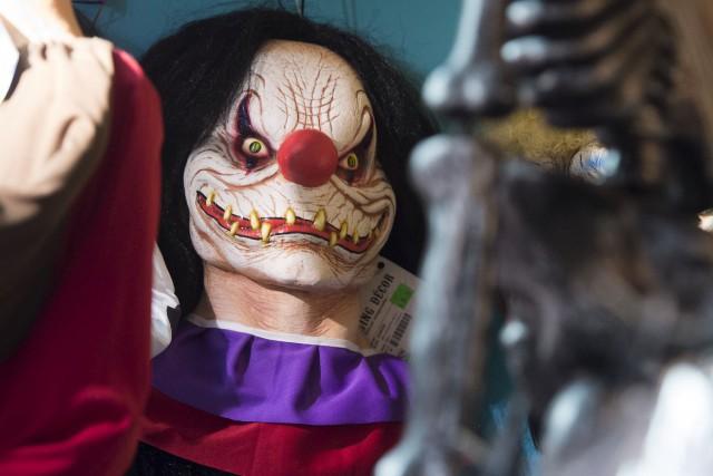Le phénomène des clowns terrifiants a fait son... (Agence France Presse)