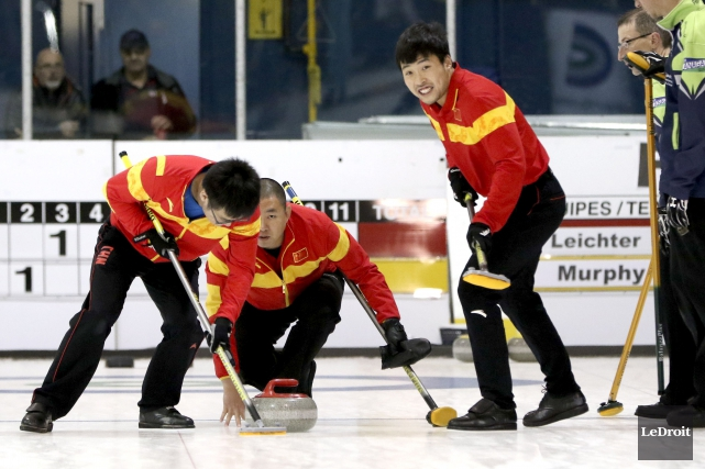 Le quatuor chinois qui a terminé quatrième aux... (Patrick Woodbury, LeDroit)